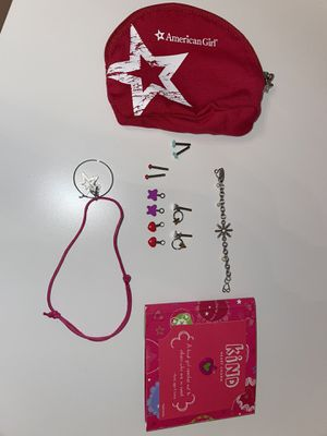 American girl doll jewelry and pouch for Sale in Miami, FL