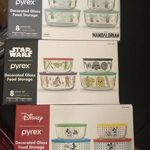 Disney Pyrex Mickey Mouse, The Mandalorian and Star Wars for Sale in Whittier, CA