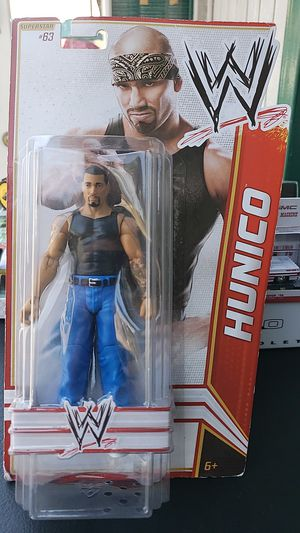 WWE ACTION FIGURE COLLECTIBLE HUNICO 2012 PICK UP IN WHITTIER for Sale in Whittier, CA