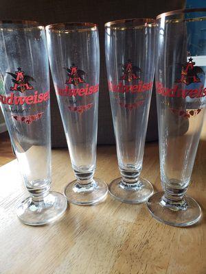 Rastal Budweiser Beer Pint drinking glasses for Sale in Gresham, OR