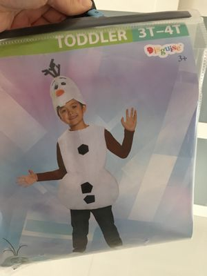 Olaf toddler costume for Sale in Miami, FL
