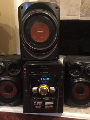 Speaker system LOUD BASS Aux compatible for Sale in Tampa, FL