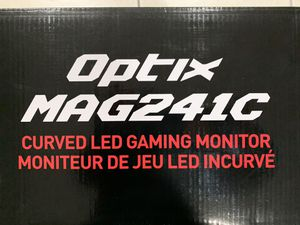 """Optic MAG241C Curved LED Gaming Monitor 23.9"""" for Sale in Chicago, IL"""