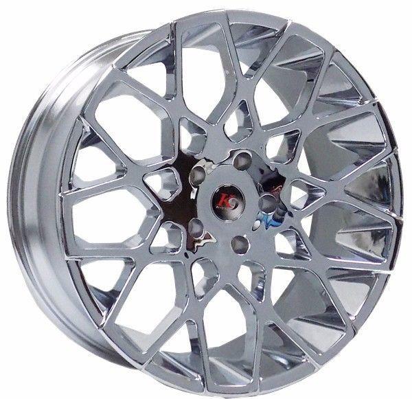 6x139.7 6x5.5 6 Lug Chevy Rimes Wheels 22 Chrome Gm Gmc