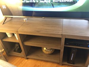 Tv stand and book shelf for Sale in Tacoma, WA