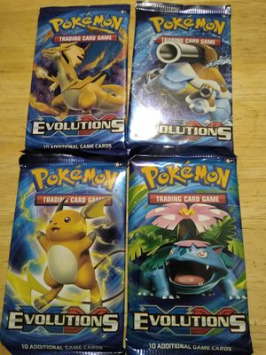Pokemon booster packs for Sale in Maricopa, AZ