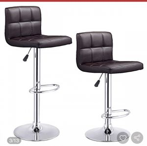 New brown bar stool set( 2 pieces) for Sale in Hacienda Heights, CA