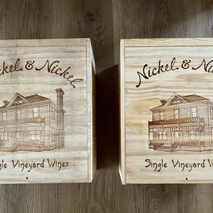 Two Wine Boxes From Nickel & Nickel Cabernet for Sale in University Park, MD