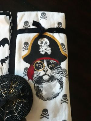 New Halloween Kitchen Towels and Coasters for Sale in Santa Maria, CA