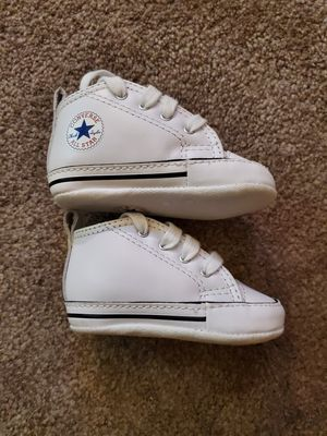 Converse First Star Baby Shoes - size 2 for Sale in Hayward, CA