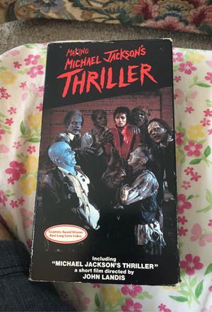 VHS Tape - Making Michael Jackson's THRILLER for Sale in Federal Way, WA
