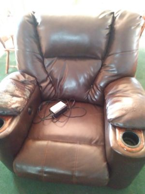 Leather Chair for Sale in Newton, KS
