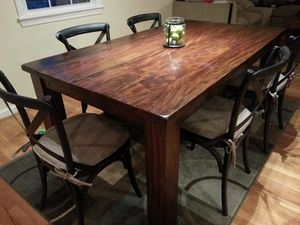 Arhaus Solid Wood Dining table for Sale in Vienna, VA