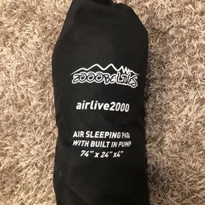 Air Sleeping Bag (built In Pump) Used Once for Sale in Sacramento, CA