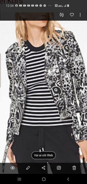Michael Kors Graffiti Leather Jacket for Sale in Miami, FL
