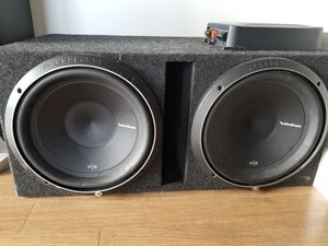 12 inch subwoofer & amplifier for Sale in Philadelphia, PA