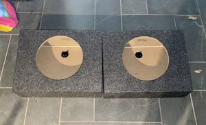 "New 12"" subwoofer box pair for Sale in Seminole, FL"