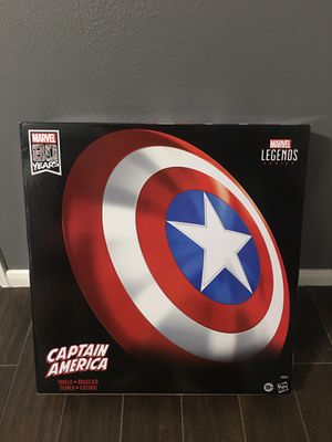 Marvels Captain America Shield Legends 80th year Edition for Sale in Katy, TX