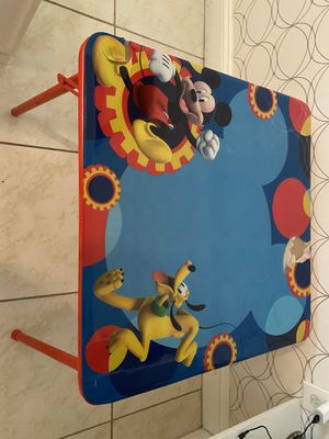 Kids Mikey Mouse Table and Chair for Sale in Bartow, FL