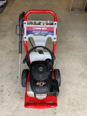Troy Bilt pressure washer for Sale in Shippensburg, PA