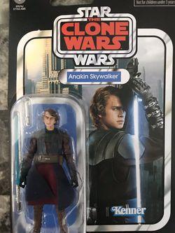 Star Wars Vintage Anakin Skywalker Clone Wars for Sale in Carson,  CA