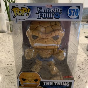 """New Funko POP! Marvel: Fantastic Four - 10"""" The Thing Target Exclusive for Sale in Las Vegas, NV"""