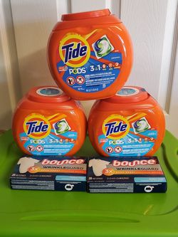 $25 Tide Pods Bundle (5pc) for Sale in Loganville,  GA