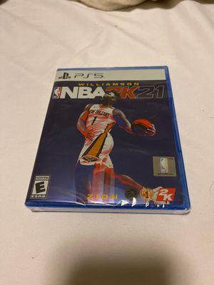 PS5 NBA2k21 for Sale in Hacienda Heights, CA