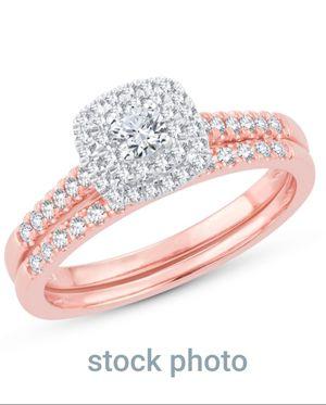 Rose Gold Wedding set for Sale in Austin, CO