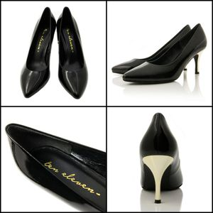 RHEA PIANO BLACK WITH GOLD HEELS Handmade 100% Leather Shoes for Sale in Diamond Bar, CA