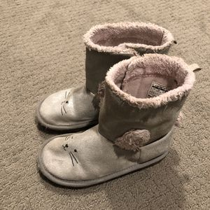 Carter's Girls Boots, Size 12, Silver for Sale in Seattle, WA
