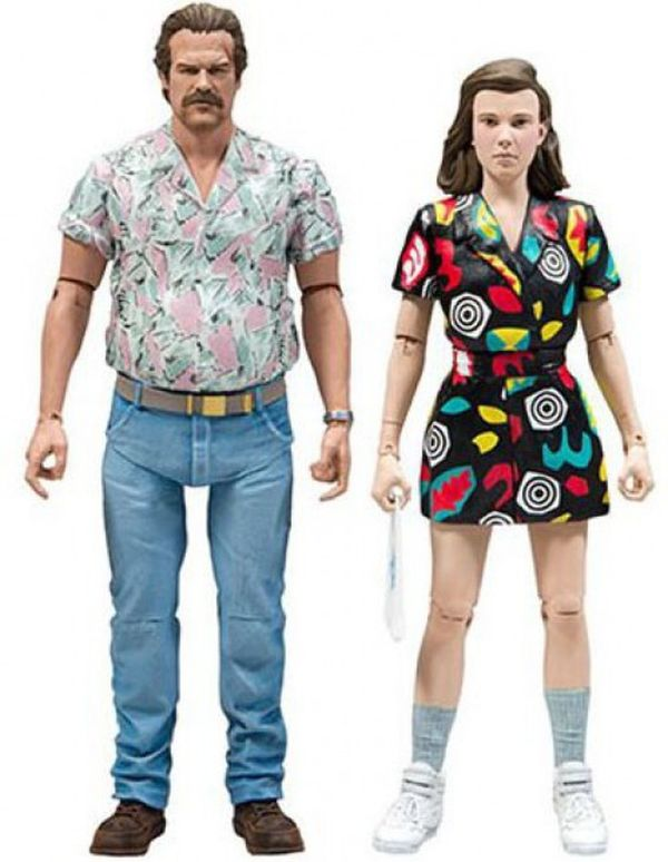 Stranger Things Season 3 Hopper and Eleven Figures by McFarlane Toys