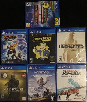 Unopened PS4 games for Sale in Modesto, CA