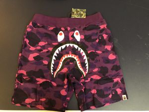 Bape purple camo shark shorts size L XL and XXL for Sale in Boston, MA