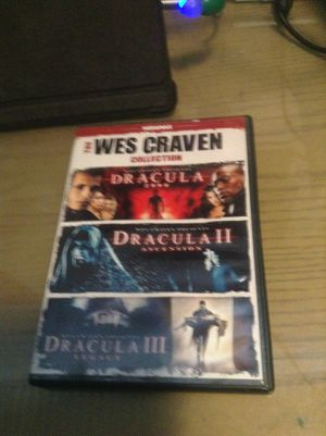 DVDs the Wes craven collection for Sale in Hialeah, FL