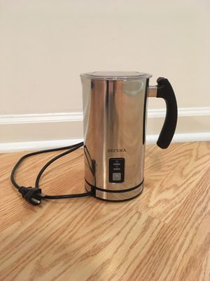 Secura Automatic Electric Milk Frother and Warmer (250ml) for Sale in Rockville, MD