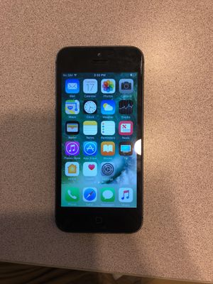 Iphone 5 At&t for Sale in Houston, TX