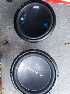 12 inch subwoofers for Sale in Orlando, FL