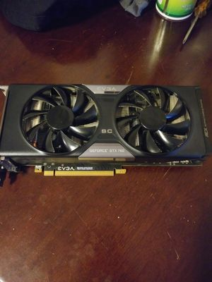 EVGA GTX 760 Superclocked for Sale in Murfreesboro, TN