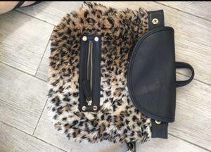 Leopard print backpack handbag for Sale in Franklin, MA
