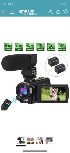 Camcorder Video Camera Digital YouTube Vlogging Camera for Sale in Hacienda Heights, CA