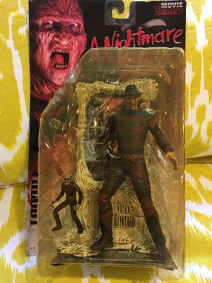 Movie Maniacs Freddy Krueger Action Figure, New, 1995, McFarlane for Sale in Santa Monica, CA