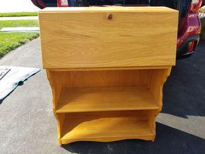 Solid Oak Secretary Desk for Sale in Oxford, PA