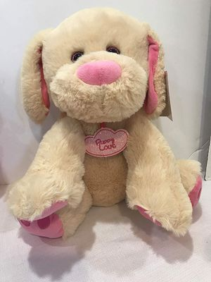 """Hugme Plush Soft 15"""" Stuffed Animal Sitting Dog Puppy Love Valentines day Gift Quality! for Sale in Hollywood, FL"""