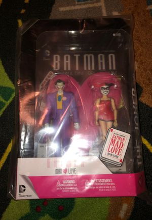 DC Collectibles - Mad Love Joker & Harley - Batman Animated Series Action Figure for Sale in Long Beach, CA