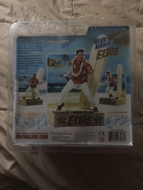 Elvis Presley Blue Hawaii Action Figure McFarlane Toys Elvis #6 toy 2006