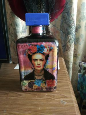 Frida glass bottle for Sale in Riverside, CA