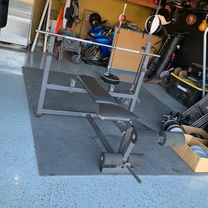 Bench With Bar for Sale in Fairfield, CA