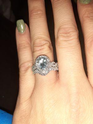 14k white gold topaz ring from kay j for Sale in Sterling, VA