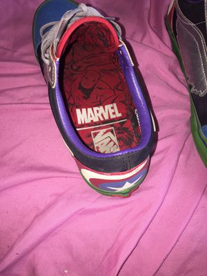 Limited Edition Avengers Vans $60 for Sale in Hartford, CT